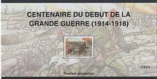Senegal 2014 Sheetlet Centenary World War I 1914-18 Block MNH** Mi. Bl. 108