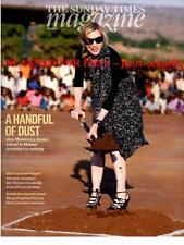 MADONNA Zoe Ball IAN THORPE Steig Larsson Sunday Times Mag (19 June 2011)