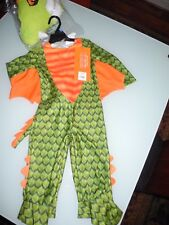 NWT HYDE AND SEEK TODDLER DRAGON COSTUME SOFT JUMPSUIT SIZE 18 - 24 MONTHS NEW