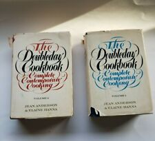 The Doubleday Cookbook Complete Contemporary Cooking Anderson & Hanna 1975 2 Vol