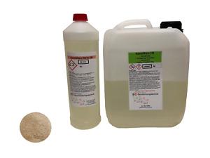 2K-EPOXID Grundierung + Quarzsand Steinteppich Menge wählen 5m²-20m²