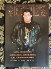 IRON MAIDEN EDDIE'S original ITALIAN fan club magazine # 17 Dennis Stratton