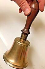 Antique Brass Teacher's School Bell