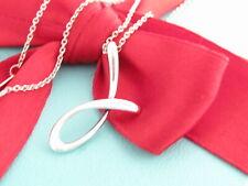 Tiffany & Co Silver Alphabet J Peretti Necklace