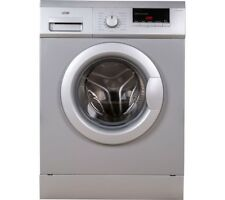 Logik L612WMS17 Washing Machine In Silver Brand New Ex Display RRP £190