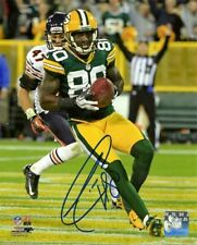 Packers DONALD DRIVER Signed 16x20 Photo #3 AUTO - SB XLV Champ - Career Leader