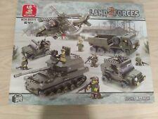 Land 2 Forces building blocks by Sluban (M38-B0311) 996 pieces