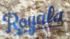 KC ROYALS BOYS SIZE LARGE  14 -16 T-SHIRT