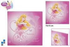 DISNEY KANVAS immagini Princess 15x15 CM NUOVO