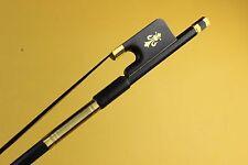 8 pcs New high class black Carbon fiber viola bows black horse hair