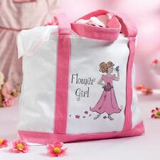flower girl tote wedding flower girl gift tote bag