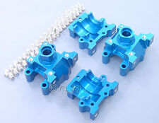 2Set Alloy Front/Rear Differential Gear Box Fits Losi Mini Lst