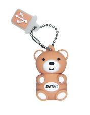 CLE USB 2 GO RAPIDE EMTEC OURSON / teddy bear 2 gb key