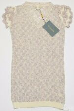4045d48ab897f2 ZAC POSEN Women s Open Knit Unlined Top Shirt Blouse Ruffle Cap Sleeve Size  M