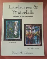 Landscapes & Waterfalls by Nancy Willimon - Stained Glass Pattern