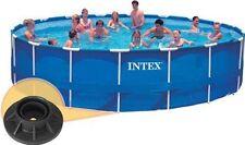 4 Pack Intex Vertical Leg Pole Cap Large Metal Frame Swimming Pools 18' to 24'