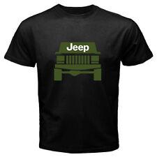 Cherokee Jeep Rally Wrangler T-Shirt Car Off Road Logo Black Men or Women