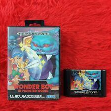 *Sega Mega Drive WONDER BOY IN MONSTER WORLD (NI) Boxed PAL UK Version