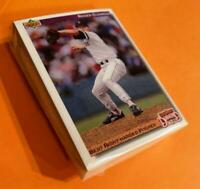"50) ROGER CLEMENS Boston Red Sox 1992 UD ""Diamond Skills"" Baseball Card #641 LOT"