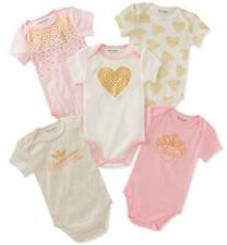 Juicy Couture Infant Girls 5 Pack Pink & Multi Bodysuits Size 0/3M 3/6M 6/9M $48