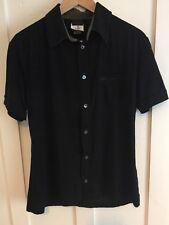 Chemise homme Dolce & Gabbana d&g Chemise à manches courtes-noir-Taille M-étiqueté 36/50