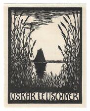 HEINRICH HAGEMEISTER: Exlibris für Oskar Leuschner