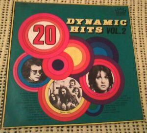 BULK LOT VARIOUS ARTISTS 20 DYNAMIC HITS VOL 2 VINYL LP 1971 ORIGINAL AUST PRESS