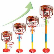 Child Kid Sports Mini Backboard Hoop Ring Net With Basketball Indoor Outdoor Toy