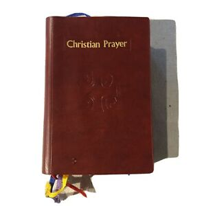 Christian Prayer Liturgy of the Hours Catholic Book 1976 Divine Office
