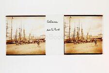 Catane Catania Italie Italia Plaque de verre Stéréo positive ca 1905