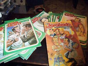 PEDRO INFANTE 45 COMICS LOT!!! from early 1985 era, SEPIAN color,no  maria felix