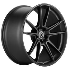 "19"" HRE FF04 FLOW FORM BLACK CONCAVE WHEELS RIMS FITS VOLKSWAGEN VW GOLF GTI MK7"