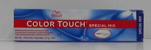 WELLA COLOR TOUCH SPECIAL MIX Professional Demi-Permanent Hair Color ~ 2 fl oz!.