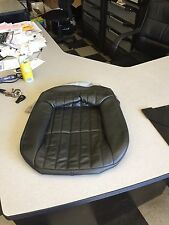 2000 2002 Chevy Camaro OEM Rear Lower EBONY color Leather Seat Cover