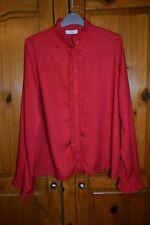 MINIMUM    red shirt blouse Top - size 36 / uk 10 - 12 / worn once