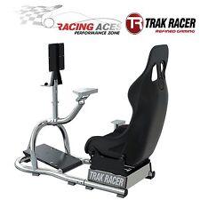 RS8 Racing Game Simulator Cockpit Simulation Seat Chair Race Gaming Trak Racer