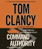 ~ TOMCLANCY Jack Ryan CD AUDIO BOOK ~ Command Authority ~ Greaney