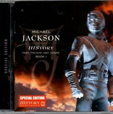 History Book 1 by Michael Jackson Special Edition CD 15 Tracks 1995  [GS 2-12]