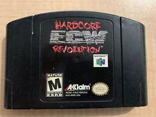 ECW: Hardcore Revolution (Nintendo 64, 2000) N64 Cartridge Only!