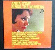 ANITA O'DAY - SINGS THE WINNERS - US EARLY 1960's PRESSING LP - JAZZ