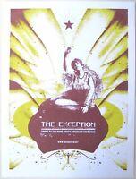 The Exception Poster 2006 Concert Tour