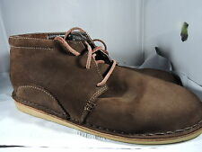 Oliberte Chukka Ankle Boots Suede Brown Men Size 42 (US 9)