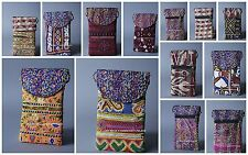 10 PC Wholesale Lot Hand Afghani Embroidered Mobile Bags Cross Body Bag Indian