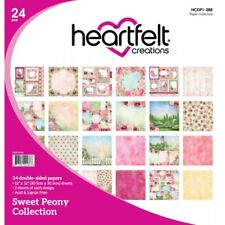 Heartfelt Creations Sweet Peony Paper Collection HCDP1-288