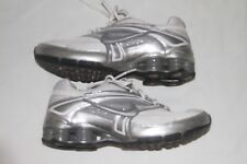 Nike Women's Shox Reveal 3  Color: White/Silver, Size: 8