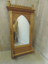 Pine Frame Gothic Decorative Mirrors