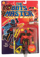 Toy Biz Bots Master Ninjzz Vintage 1994 Action Figure NEW C9+ Ninjz Ninja Robot