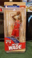 NBA Series 30 Dwayne Wade Chicago Bulls Red Jersey McFARLANE ACTION FIGURE - New