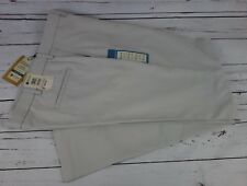 NEW Haggar Mens Performance Microfiber Dress Pants/Slacks Stone 38W x 32L $70.00