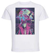 T-Shirt White - Maglia Bianca - Vaporwave Lupin III - Characters